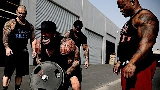 DOWNTOWN L.A. BACK ALLEY WORKOUT - GHETTO STYLE - WHATEVER IT TAKES - RICH PIANA