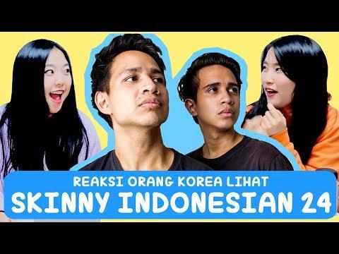 REAKSI ORANG KOREA LIHAT SKINNY INDONESIAN 24 INDOMIE !!