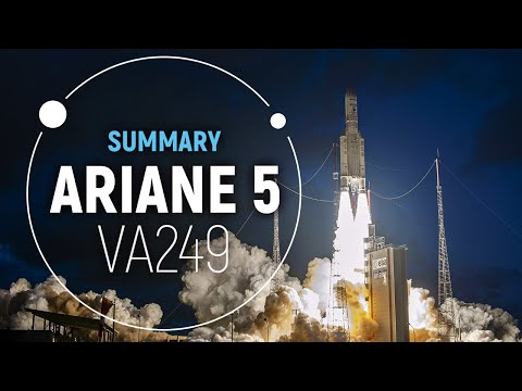 Arianespace Flight VA249  Successful Ariane 5 Launch