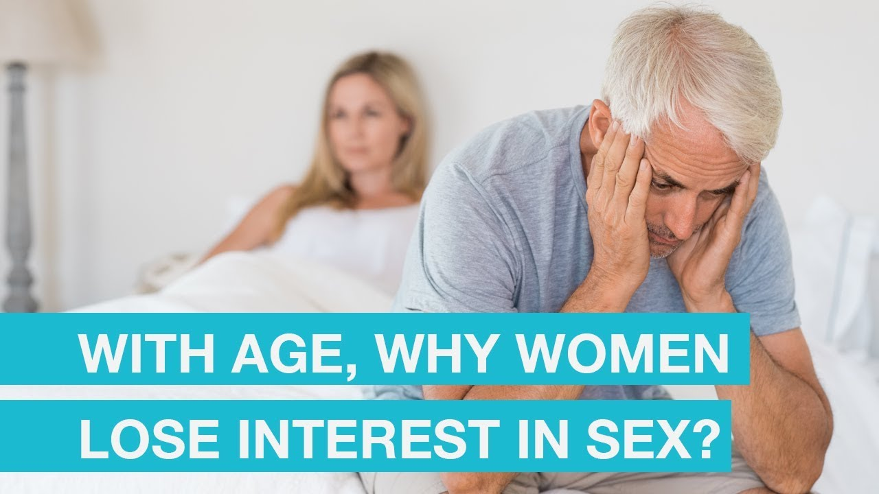Why do women lose interest in sex