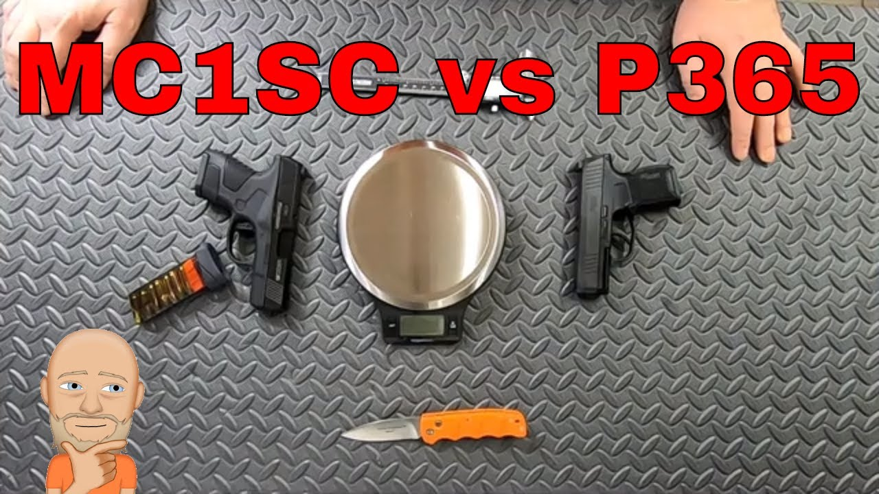 Mossberg MC1 vs Sig Sauer P365 Review and Comparison