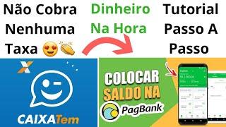 Transferindo O Dinheiro Do CAIXA TEM Para O PAGBANK | Antes Do Prazo | Dinheiro Disponível Na Hora 😱