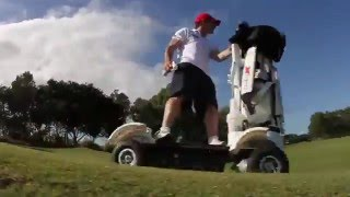 Golf Skate Caddy™ 2015 Official Promo 1
