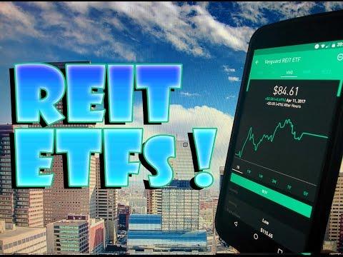 Robinhood APP - REIT ETFs - High Yield MONTHLY INCOME Stocks!
