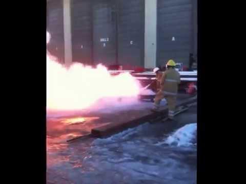 25kg Dry Chemical Powder 296B Fire Test