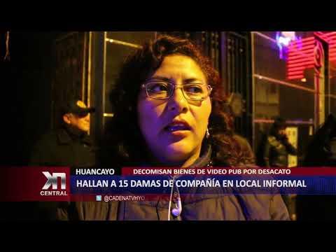 HALLAN 15 DAMAS DE COMPAÑÍA EN LOCAL INFORMAL