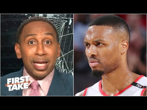 Stephen A. reacts to Damian Lillard dropping 61 points vs. the Mavericks | First Take
