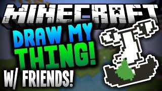 NOT AGAIN! Minecraft Mineplex - Draw My Thing!