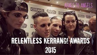 Ashes to Angels at the Kerrang! Awards 2015