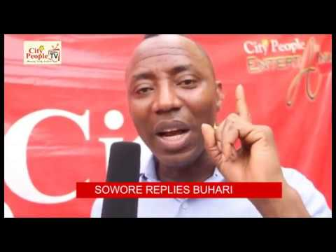 'NIGERIAN YOUTHS ARE NOT LAZY', PRESIDENTIAL ASPIRANT OMOYELE SOWORE REPLIES BUHARI