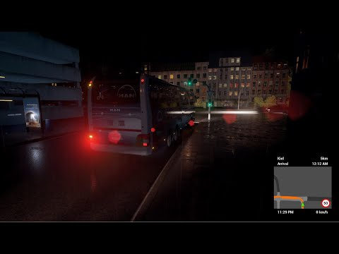 Coachbus Simulator (GER) - Destination: To Kiel Terminal