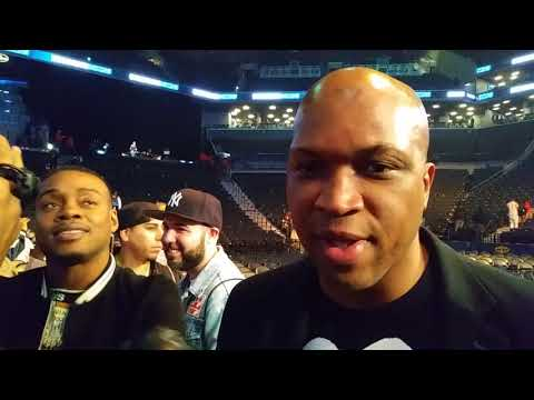 Spence n trainer react to Broner Draw n Keith Thurman running