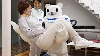 ROBEAR: The experimental nursing care robot