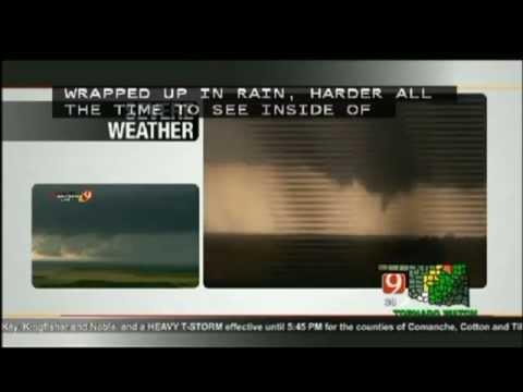 5-31-2013 El Reno Tornado Coverage (KWTV) Pt.1