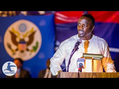 Africas Son Akon Speech on Why Africa is Better than America