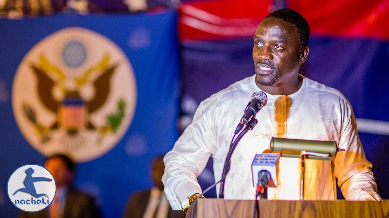 Africa's Son Akon Inspirational Speeches on Why Africa is Better than America