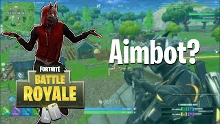 Aimbot? (Fortnite BRs) w/BryceMcQuaid