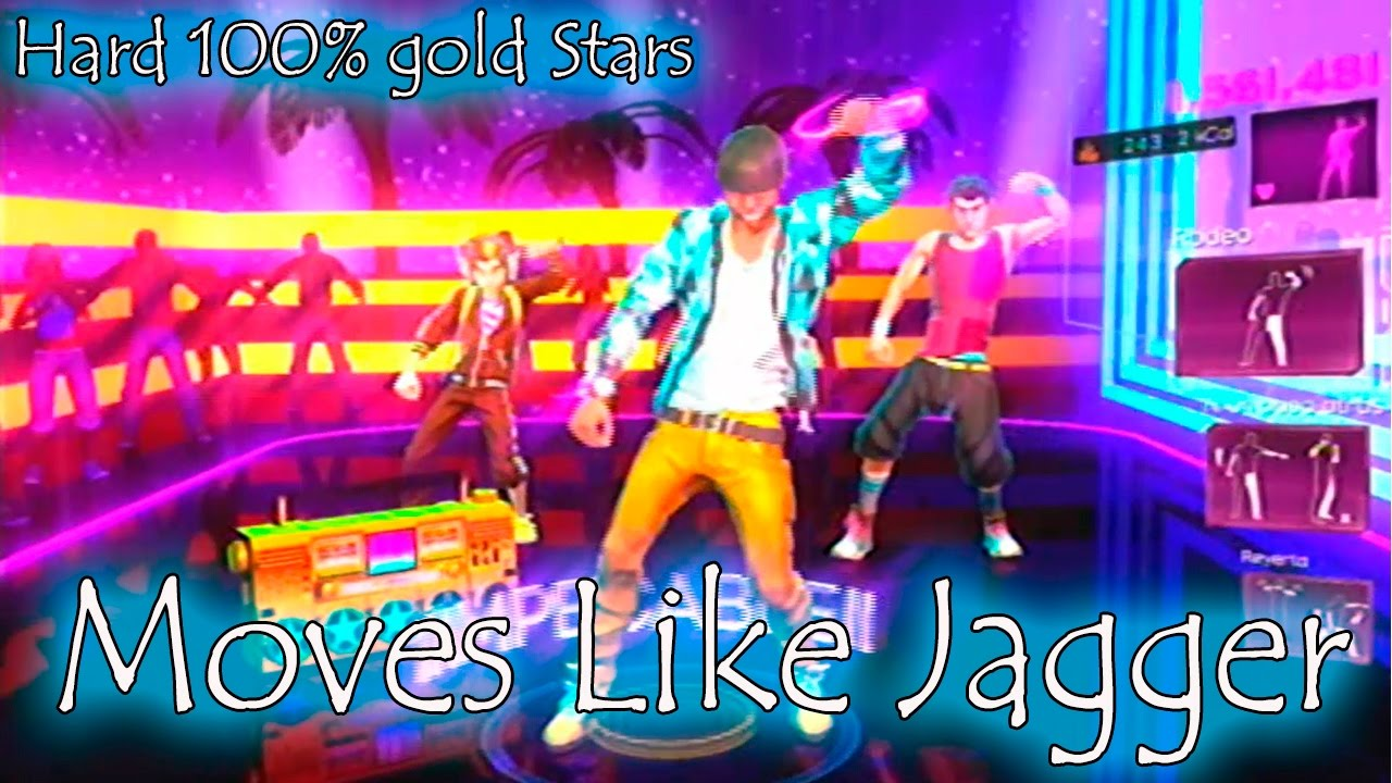"Dance Central 3 - ""Moves Like Jagger"" 