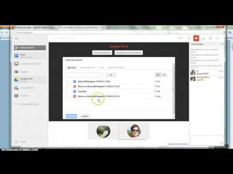 Tutorial Google Hangout (in italiano)