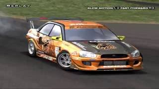 D1 Professional Drift Grand Prix Series PS2 PCSX2 60fps HD (2006)
