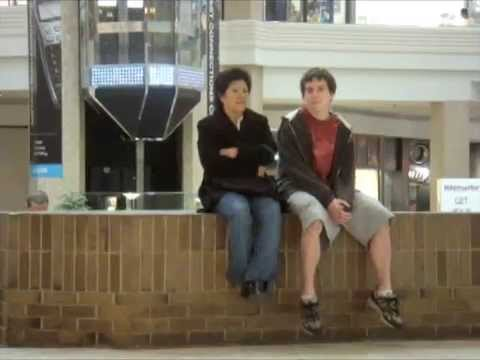 Hilarious Social Norms Project: Violating Personal Space