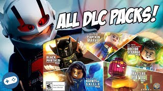Lego Marvel's Avengers All DLC Characters Season Pass