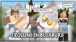 TROLLING People With TAGS In BLOXBURG || Ft. ItzSoph || (Roblox)
