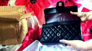 (AliExpress) CHANEL 2.55 Lambskin Silver Hardware Unboxing / Reveal