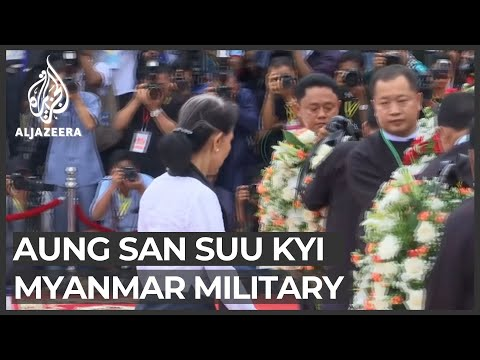 Aung San Suu Kyi's turbulent relationship with military