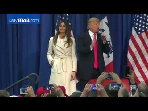 Would like to see Donald Trump Family (Son, wife)? Watch Video