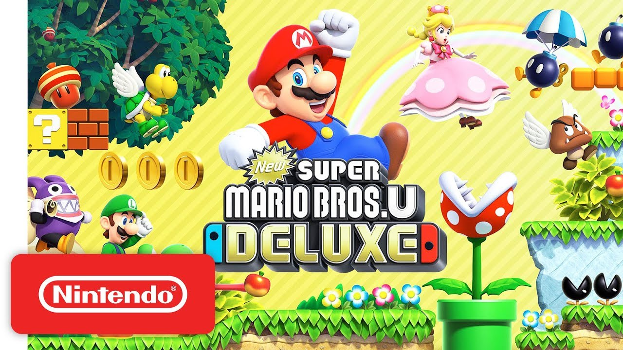 New Super Mario Bros U Deluxe Launch Trailer Nintendo