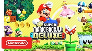 vuclip New Super Mario Bros. U Deluxe - Launch Trailer - Nintendo Switch
