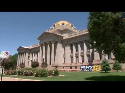 Pueblo County Courthouse gets golden top