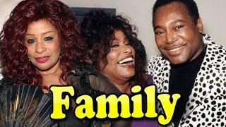 Chaka Khan Family With Daughter,Son and Husband Doug Rasheed 2020