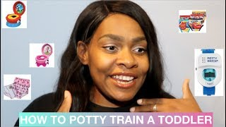 How To Potty Train A Toddler