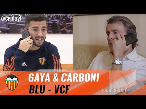 CARBONI AND GAYÀ CHAT ABOUT VALENCIA CF VS FC BARCELONA MATCH