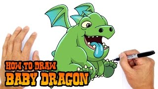 How to Draw Baby Dragon | Clash Royale
