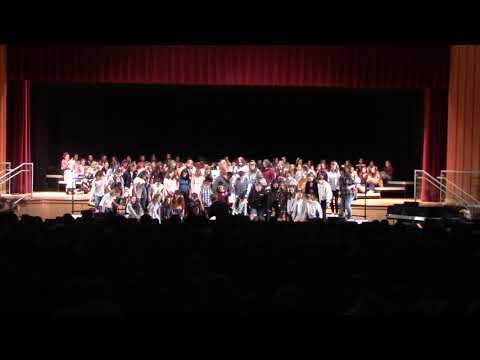 Lehighton Area Middle School Choruses Songs 1 to 6