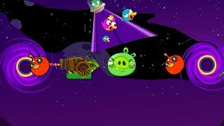 Angry Birds Collection Cannon 5 - FORCE BAD PIG TO ELECTRIC SHOCKER THROUGH BLACKHOLE!