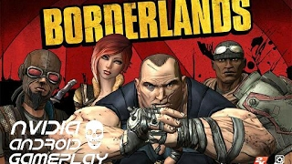 Borderlands | HD Gameplay | Nvidia Shield Tablet K1 | Android | GeForce Now