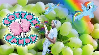 Sweeter Than Cotton Candy Grapes VLOG