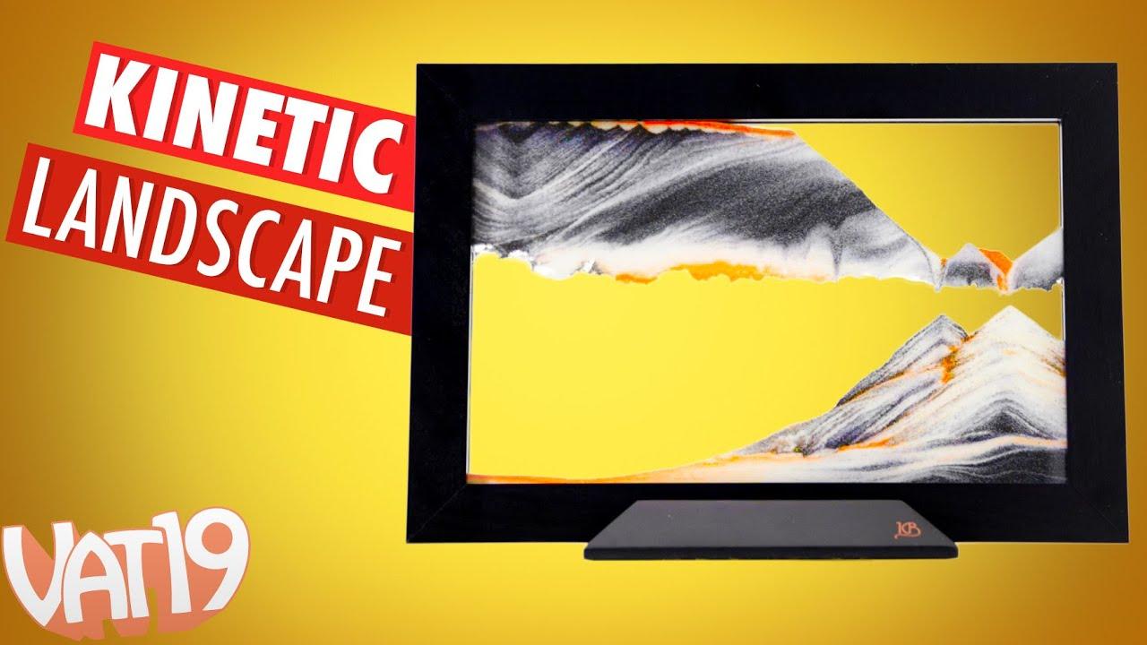 Framed Sand Art - YouTube