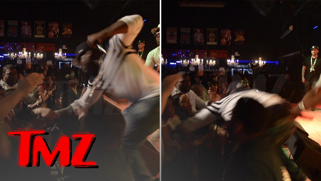 50 Cent Punches Super Aggressive Fan
