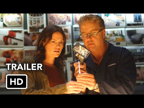 CSI: Vegas (CBS) Trailer HD - Jorja Fox, William Petersen series