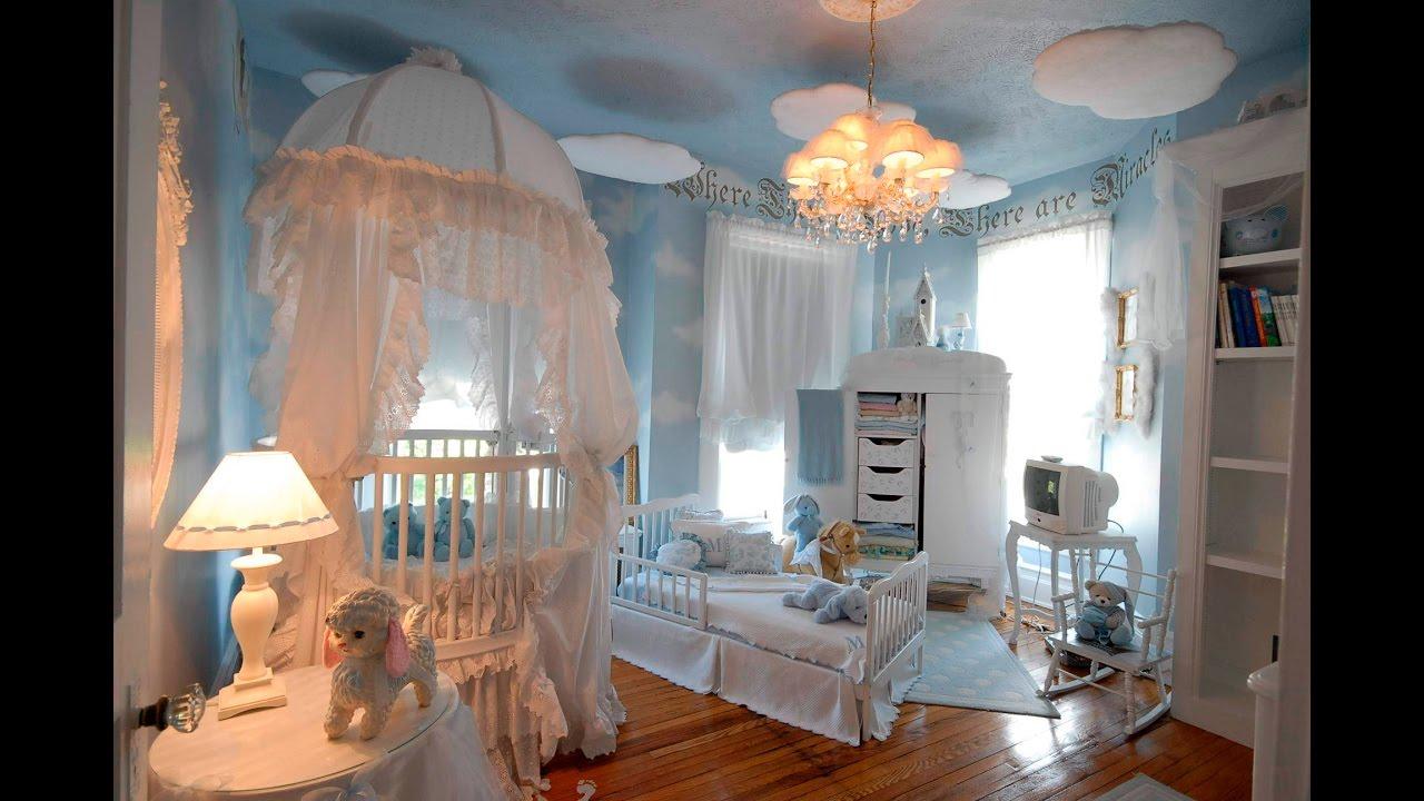 Girl Nursery With Wallpaper 20 Amazing Baby Nurseries Youtube