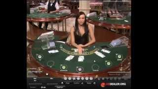 Blackjack @William Hill with live dealer Monta