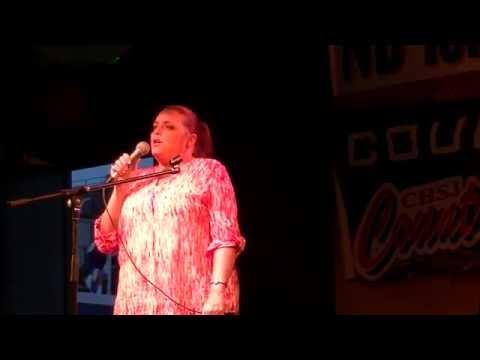 """Sheri Neilson singing  """"Your Cheatin' Heart"""" by Hank Williams Sr. for top 8 week of Country Star"""