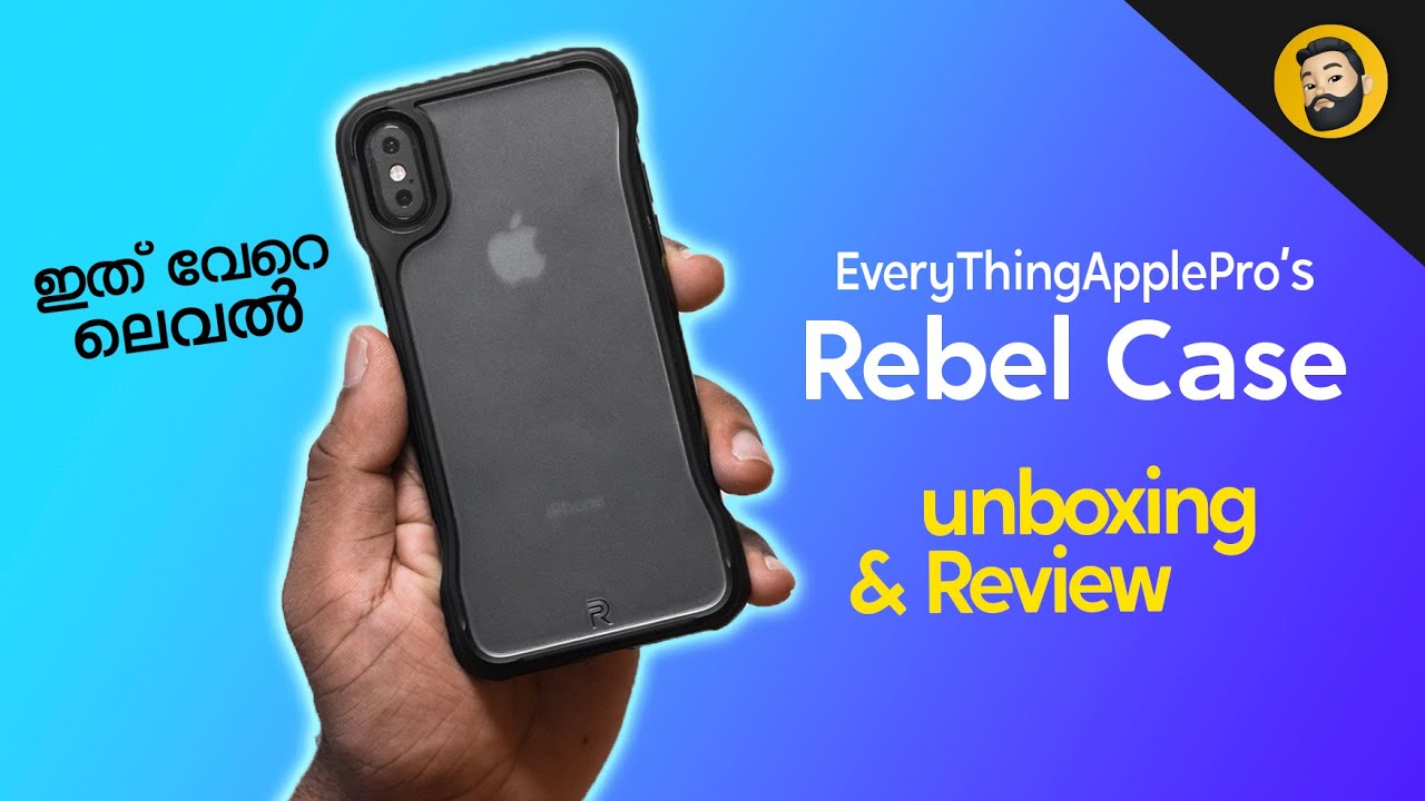 iPhone Rebel Case Unboxing- in Malayalam