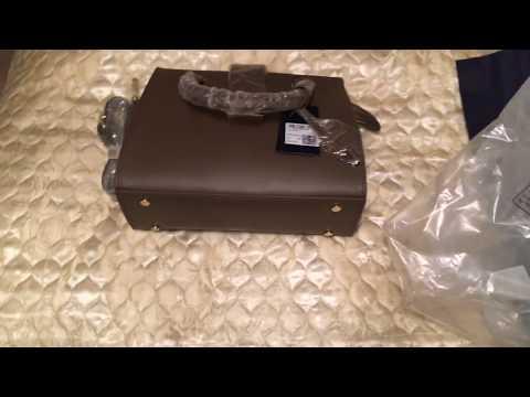 Распаковка и обзор сумки Trussardi с сайта KUPIVIP/UNBOXING
