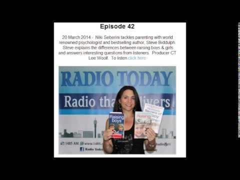 Steve Biddulph - parenting (audio only) www.conversationswithniki.co.za